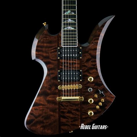 bc rich supreme preowned bc rich mockingbird supreme rebel guitars
