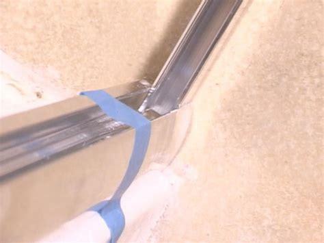 Installing A Glass Shower Door How Tos Diy How To Install A Glass Door
