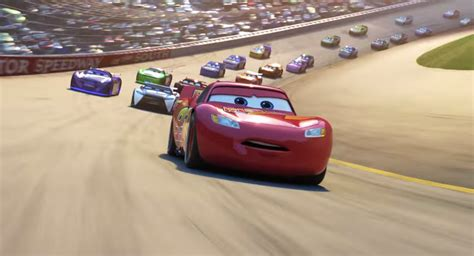 film cars 3 trailer cars 3 trailer mashes up rocky and talladega nights
