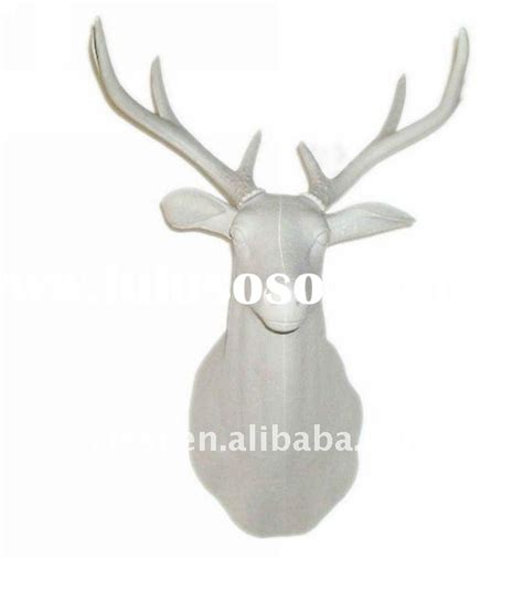 bulk mounted deer head styrofoam bulk mounted deer head