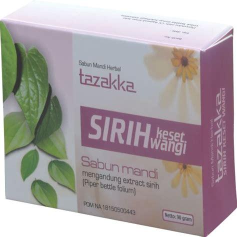 Sabun Daun Sirih sirih keset wangi sabun mandi tazakka membantu merawat