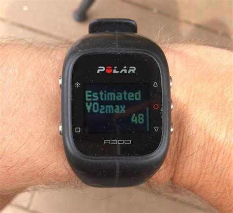 polar fitness test polar a300 fitness and activity monitor review