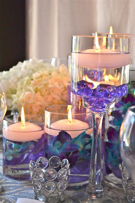 wedding reception centerpieces floating candles 355 best low centerpieces images on