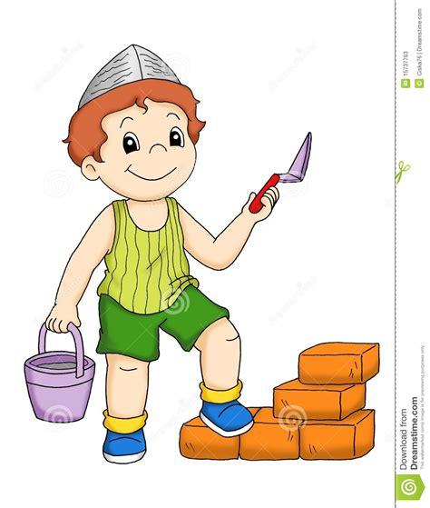 clipart muratore muratore illustrazione di stock illustrazione di