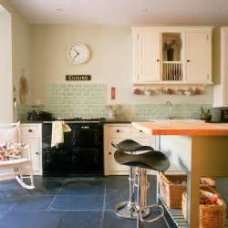 Country Kitchen Tiles Ideas by Modern Country Kitchen With Green Tiles Green Kitchen