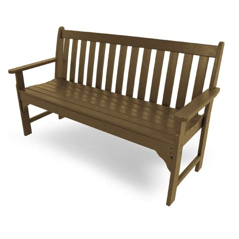 60 inch bench polywood 174 vineyard 60 inch garden bench gnb60