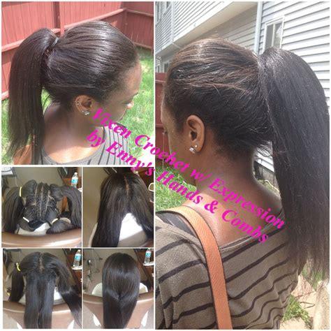 styles with kanekalon hair vixen crochet braid with expression kanekalon hair hair