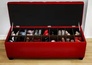 hidden shoe storage under bench seat ideas