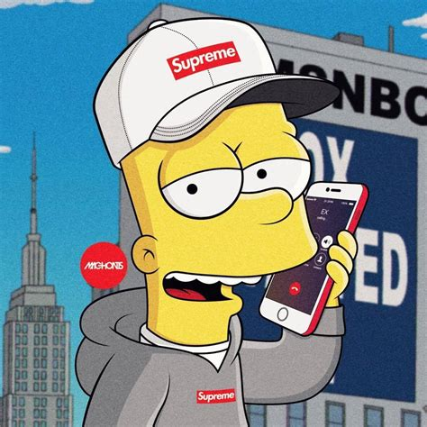 bart simpson bart simpson supreme pictures to pin on pinterest pinsdaddy