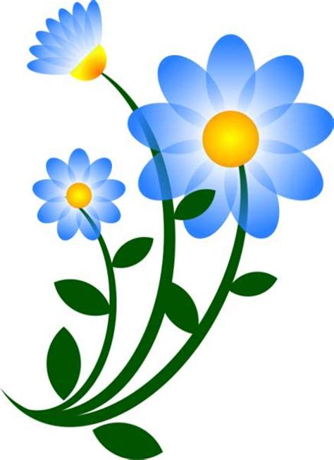 free clipart images blue flower clipart free clip images image 9108