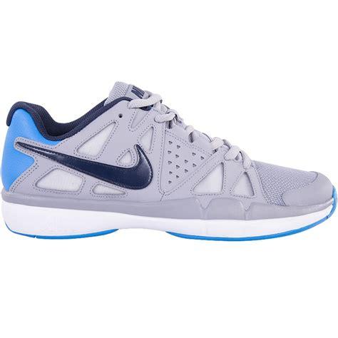 nike mens tennis shoes nike air vapor advantage s tennis shoe grey blue