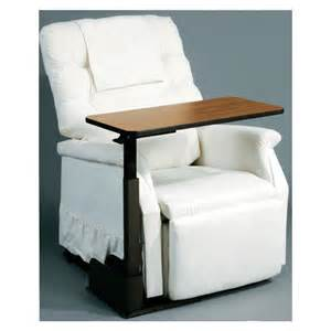 adjustable recliner chair table
