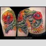 Opium Poppy Flower Tattoo | 425 x 302 jpeg 42kB