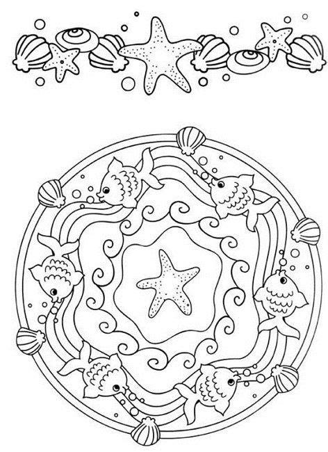 ocean mandala coloring pages 79 best ocean mandalas images on pinterest drawings