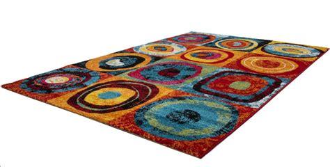 Tapis Multicolore Pas Cher by Tapis Design Pour Salon Multicolore Sweet Pas Cher