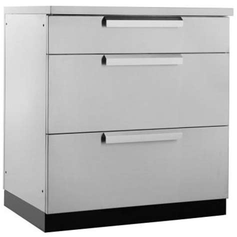 outdoor kitchen storage drawers cal flame outdoor kitchen stainless steel 3 drawer storage