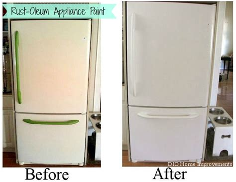 kitchen appliance paint painting an appliance refrigerator kitchens and