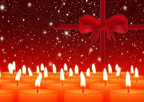 great candle themed  christmas wallpaper  xmas background wwwmyfreetexturescom