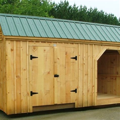 Big Shed Plans by Large Shed Plans Shed With Wood Storage Wooden Storage