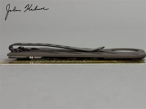 carbon fiber money clip knife product review quot the creditor quot carbon fiber titanium