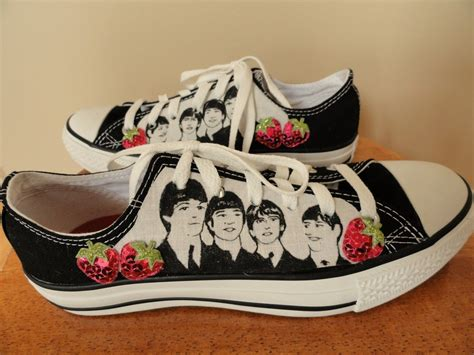 beatles sneakers the beatles converse shoes