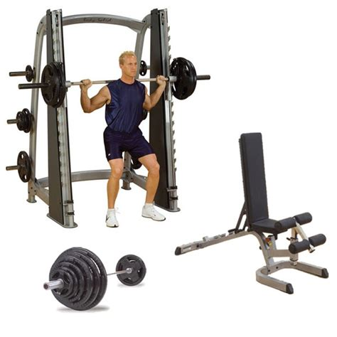 smith weight bench smith machine package smith bench and weight set