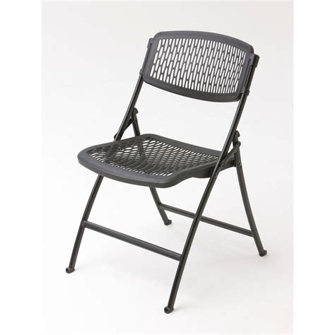 Folding Chair - hdx black folding chair 2ff0010p the home depot