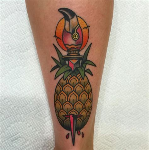 tattoo new cumberland pa pineapple tattoos tattoo insider