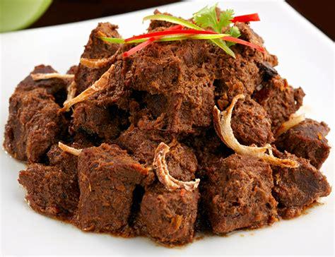 Wadah Makanan Untuk Kue Masakan resep rendang padang asli kering dan enak masteresep