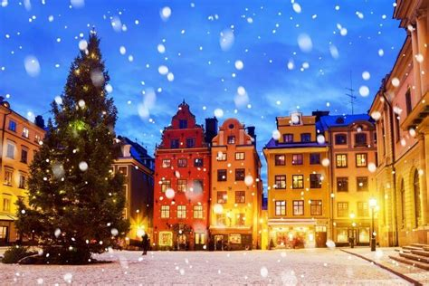 stockholm  december  mini guide   swedish paradise