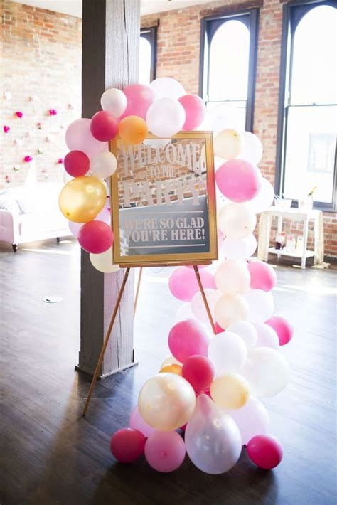 Decorations For A Wedding Shower by Best 20 Bridal Shower Balloons Ideas On