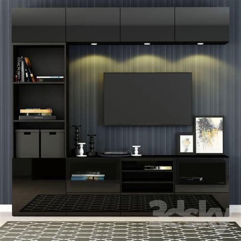 3d models wardrobe display cabinets furniture for tv