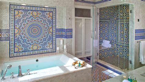Blue Bathroom Tile Ideas mosaic house