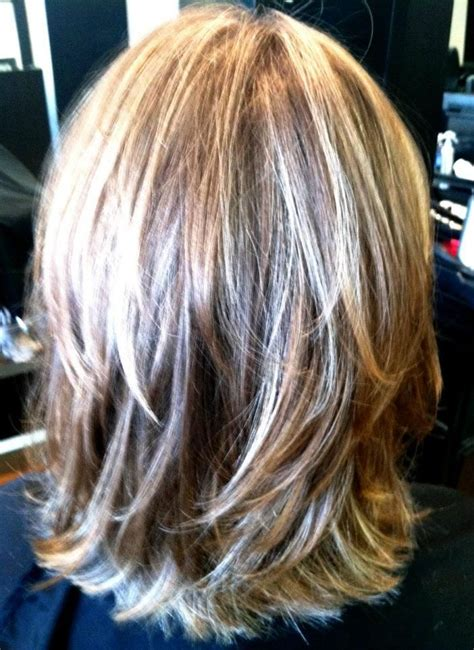 hair in front shoulder length in back layered haircuts for medium hair back view haircuts