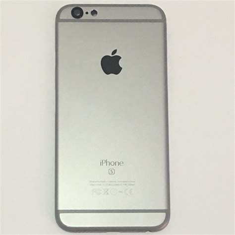 carcaca traseira iphone   apple original space gray
