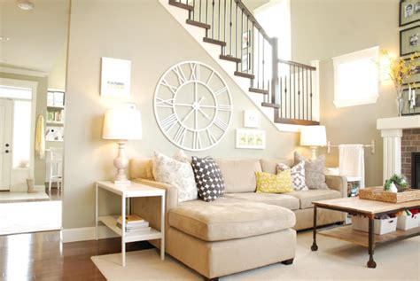 ivory sofa decorating ideas large wall behind sofa display ideas with cute
