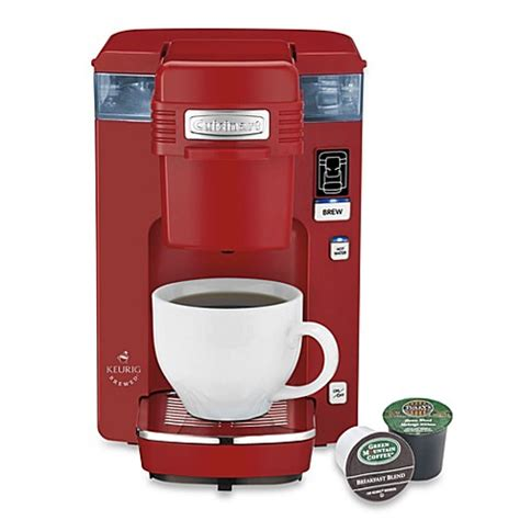 cuisinart coffee maker bed bath beyond buy cuisinart 174 compact single serve coffee maker from bed