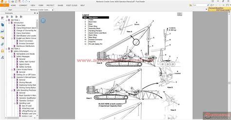 Keygen Autorepairmanuals Ws Manitowoc Crawler Crane 16000