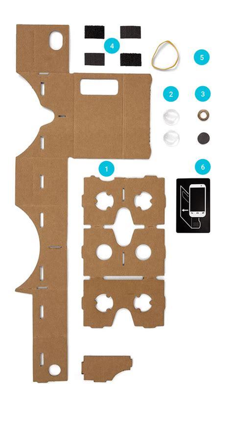 Get Cardboard Google Vr Vr Cardboard Template