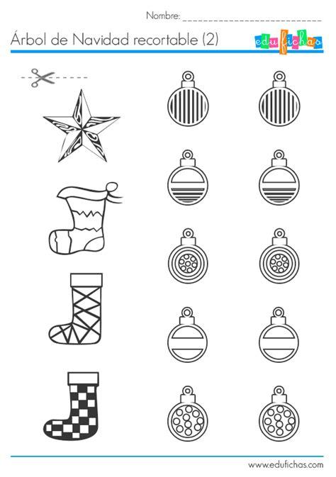 193 rbol de navidad recortable para collage manualidades
