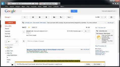 How To Search Email On How To Check Your Email Gmail User