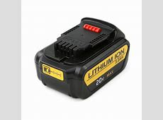 Flylinktech 3.0Ah 18V XR Li-ion Battery replacement for ... 18v Dewalt Battery Replacement