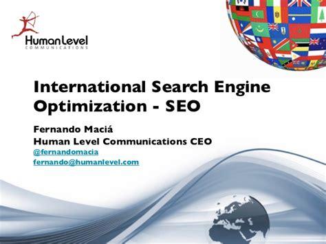 International Search Engines International Search Engine Optimization Multilingual Seo