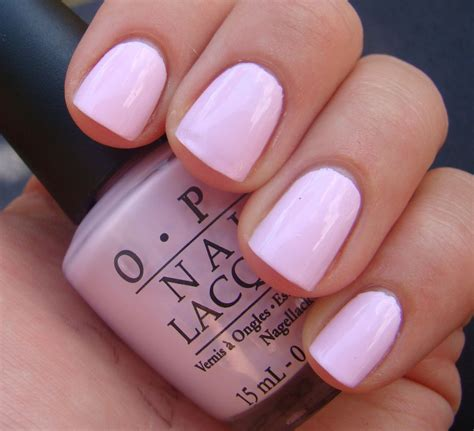 opi light pink colors mod about you opi you can never go wrong with a soft pink