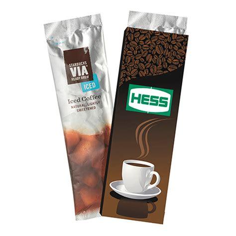 Starbucks Via Single Serve Iced Coffee Packet   USimprints