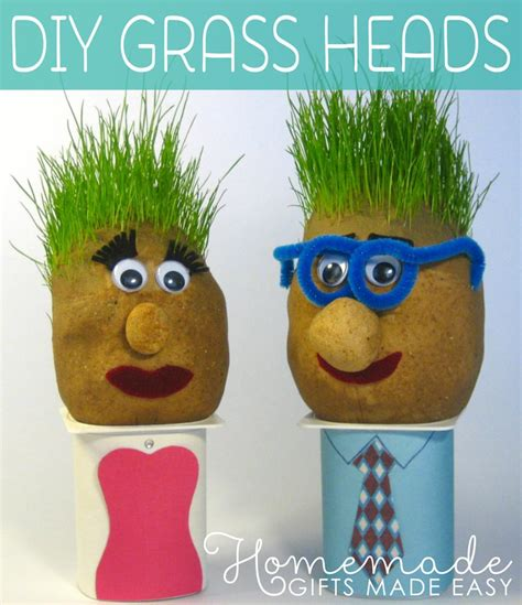 That Home Site Decorating by Cutest Grass Heads Step By Step Instructions To Make