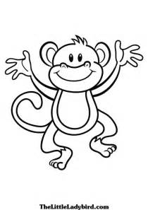 monkey coloring page monkey coloring pages free printable pictures coloring