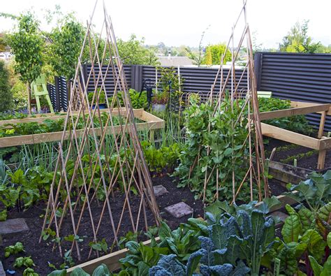 Steel Garden Nz This Challenging Blenheim Section Was Developed Into A