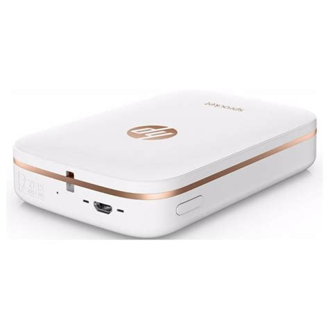Printer Bluetooth Hp buy hp sprocket bluetooth photo printer white in dubai uae