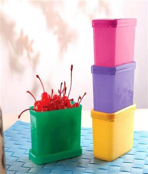 Cool It Tupperware tupperware cool square half plastic containers 4pc